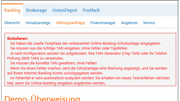 Phishing-Warnung Trojaner Dridex